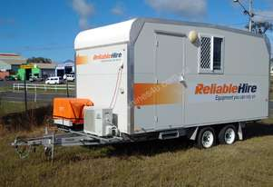 5.2m Trailer Mounted Site Office