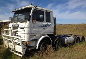 SCANIA TRUCK WORKING - 4/86
