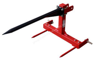 675KG Adjustable Bale Spear 3PL for CAT1 Tractors