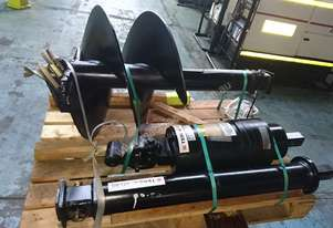Hydraulic Auger Drive and Auger