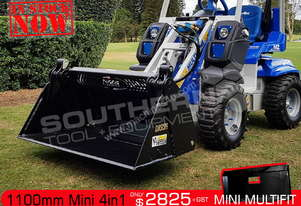 1100 mm Mini 4 in 1 Bucket Suit Boxer Mini ATT4IN1