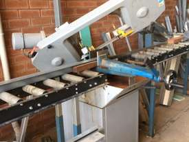 Horizontal Band Saw with rollers - picture0' - Click to enlarge