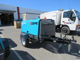 AIRMAN PDS185SC-6C2-T 185cfm Trailer mounted Portable Diesel Air Compressor w/ Aftercooler - picture2' - Click to enlarge