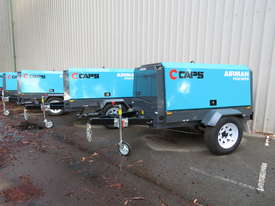 AIRMAN PDS185SC-6C2-T 185cfm Trailer mounted Portable Diesel Air Compressor w/ Aftercooler - picture0' - Click to enlarge