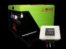 Pramac 8.8kVA Silenced Auto Start Diesel Generator + 2 Wire Auto Start Controller - picture5' - Click to enlarge