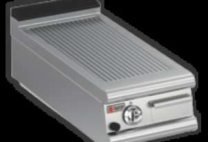 Baron 9FTT/G415 Ribbed Chromed Gas Griddle Plate
