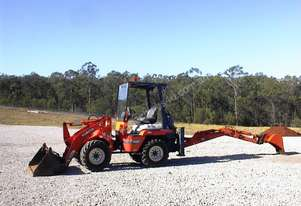 Kubota   R420 loader backhoe