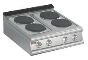 Baron 7PC/E800 Four Burner Bench Model Electric Cook Top