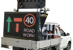 Ldc Equipment VEHICLE MOUNTED ARROW BOARDS