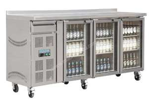 Polar CK491-A - Premium Bar Fridge 543Ltr 3 Doors