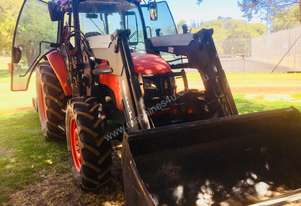 Kubota M8540 utility tractor with Front End Loader