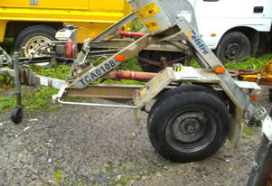 1 ton self loader cable drum trailer