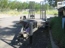 Plant trailer Rogers Guiding star Galvanised - picture0' - Click to enlarge