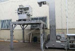 Linear Weigher with Stand, Bucket Elevator with Vibratory Feeder