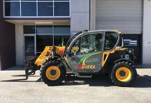 30.7TC Used Dieci Telehandler 2012 with Forks