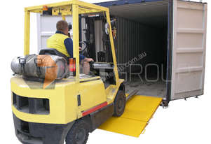 Forklift Container Ramp for Sale 8000kg Capacity WLL 8 Tonne Ramp
