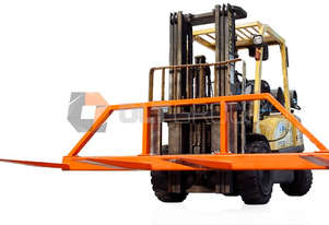 Forklift Spreader Bar Attachment 3m Wide Suit Plasterboard Steel Timber