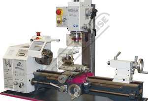 TU-2506V-16M Opti-Turn Lathe & Mill Drill Combination Package Deal 250 x 550mm Included BF-16AV Mill