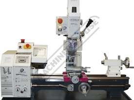 TU-2506V-16M Opti-Turn Lathe & Mill Drill Combination Package Deal 250 x 550mm Included BF-16AV Mill - picture2' - Click to enlarge
