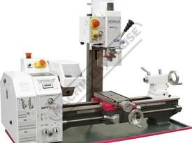TU-2506V-16M Opti-Turn Lathe & Mill Drill Combination Package Deal 250 x 550mm Included BF-16AV Mill - picture3' - Click to enlarge