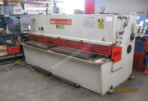 2500mm x 4mm Overdriven Hydraulic Guillotine