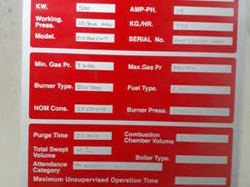 Boiler, 500Kw, Gas Fired good condition. - picture1' - Click to enlarge
