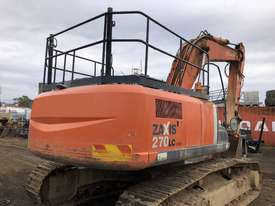 Hitachi ZX270 Tracked-Excav Excavator - picture3' - Click to enlarge
