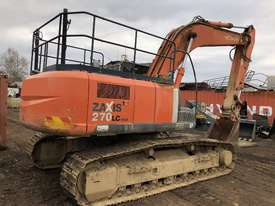 Hitachi ZX270 Tracked-Excav Excavator - picture5' - Click to enlarge