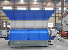 Wood Shredder, Single Shaft up to 1400mm Wide - picture2' - Click to enlarge