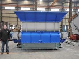 Wood Shredder, Single Shaft up to 1400mm Wide - picture7' - Click to enlarge