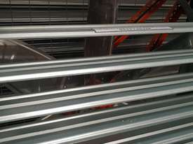 50 inch Spray booth extraction fan 240 volt stainless steel  blades full gal construction  - picture2' - Click to enlarge
