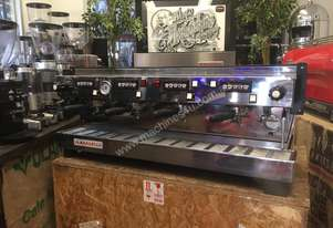 LA MARZOCCO LINEA CLASSIC 4 GROUP STAINLESS STEEL ESPRESSO COFFEE MACHINE BARISTA CAFE RESTAURANT