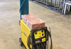 WIA 275C MIG Single Phase Welder with Gas bottle