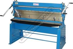 CM-1310S 3-in-1 Pressbrake, Guillotine & Rolls 1310 x 1mm Mild Steel Capacity