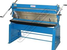 CM-1310S 3-in-1 Pressbrake, Guillotine & Rolls 1310 x 1mm Mild Steel Capacity - picture0' - Click to enlarge