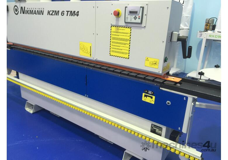 NikMann KZM6-v13 edgebanders  with return conveyor