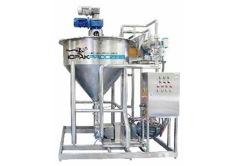 Multi-purpose blending & emulsifying plant