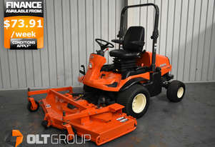 Used Kubota Mower F3680 Diesel Out Front Rear Discharge Ride on Mower