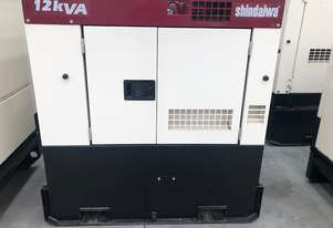 Diesel Generators- Shindaiwa 12kVA On Special (Price Negotiable)