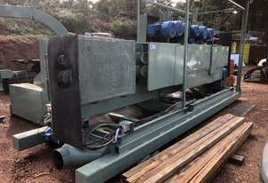 1 pass small log milling system