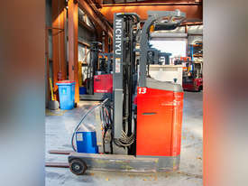 3.0T Battery Electric Stand Up Reach Truck - picture0' - Click to enlarge