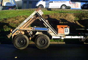 6ton self loader ,diesel powered , 191 hrs , ex Telstra Qld, drum drive