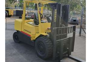5T HYSTER Container Entry (4m Lift) 3-Stg Mast, SS, Diesel H5.00DX Forklift