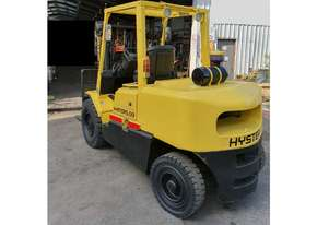 5.0T Hyster (4m Lift) Container Entry, Diesel H5.00DX Forklift