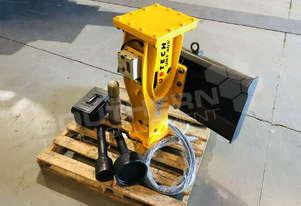 UBT40S Post Driving Silenced Hydraulic Hammer Suit Bobcat ATTUBT