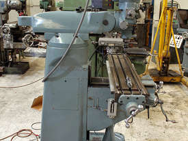 Herless NT30 Turret Milling Machine  - picture1' - Click to enlarge