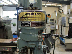 Herless NT30 Turret Milling Machine  - picture2' - Click to enlarge