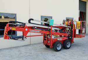 Used 2010 Leguan 125 Knuckle Boom Spider Lift