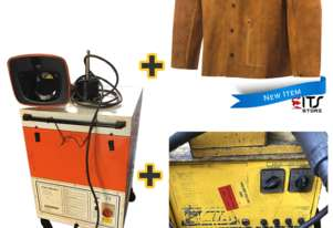 WIA MIG Weldmatic Welder, Steiner Welding Jacket & Kemper Exhaust Fan