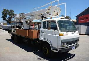 1984 Isuzu SCR480 4x2 Truck with Elevated Work Platform (GA1163)